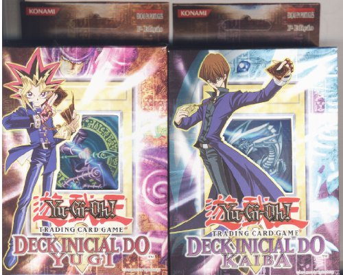 Yugioh PORTUGUESE Kaiba and Yugi Starter Theme deck for sale  Delivered anywhere in USA