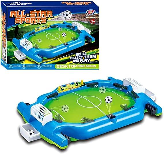 EXPLOSION Mini Desktop Football Game, Juego de Mesa Interactivo para Niños Mesa de Fútbol de Mesa de Rompecabezas para Niños, Juego de Ocio Doble: Amazon.es: Deportes y aire libre