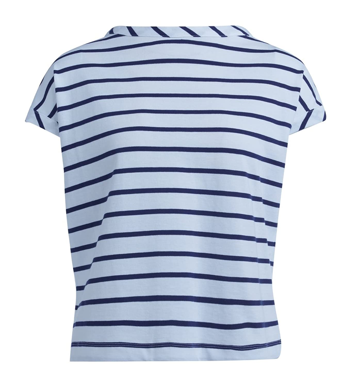 Semi-couture Women's T-shirt Semicouture Chad In Cotone A Righe
