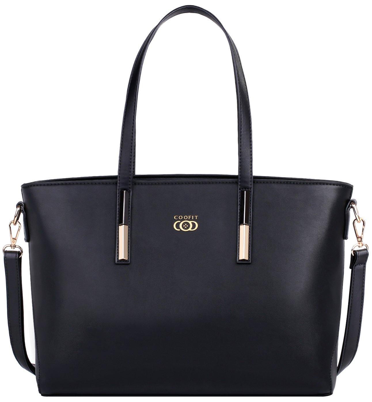 COOFIT Lady Purses and Handbags Little Bow Leisure Top-Handle Bags Shoulder Bag Purse (Coofit Black)