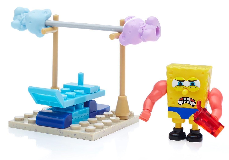 mega bloks spongebob squarepants wacky gym set amazon co uk toys