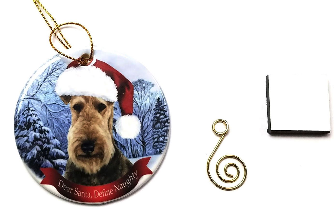 Imprints-Plus-Dog-Christmas-Ornament-3-Porcelain-Gift-Boxed-with-Tree-Hook-and-Magnet-Pet-Holiday-Decoration-Bundle-HO-001