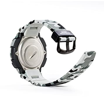 Youngs PS1503 - Smartwatch Deporte Reloj Electríco (Impermeable 100M, Compatible con Android iOS , Bluetooth, Alerta Inteligente, Despertador), ...