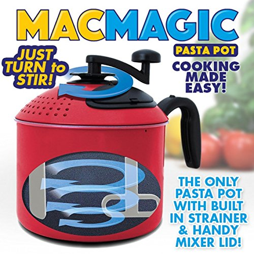 (Mac Magic Turning Pasta Pot - Pack of 2)