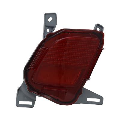 TYC 17-5492-00 Toyota Highlander Left Replacement Reflex Reflector: Automotive [5Bkhe0816154]