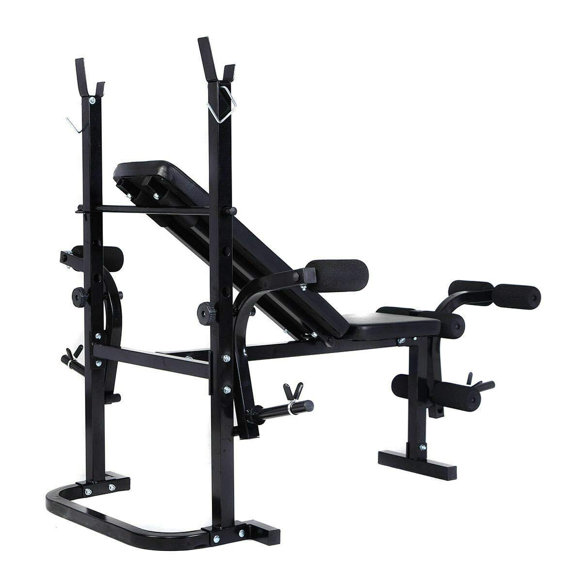 Heavens Tvcz Professional Sturdy and Durable Bench Weight Adjustable Multi-Function Fitness Lifting Exercise Workout Sit Strength Up Gym Home for Commercial, Light institutional and Home use by Heavens Tvcz