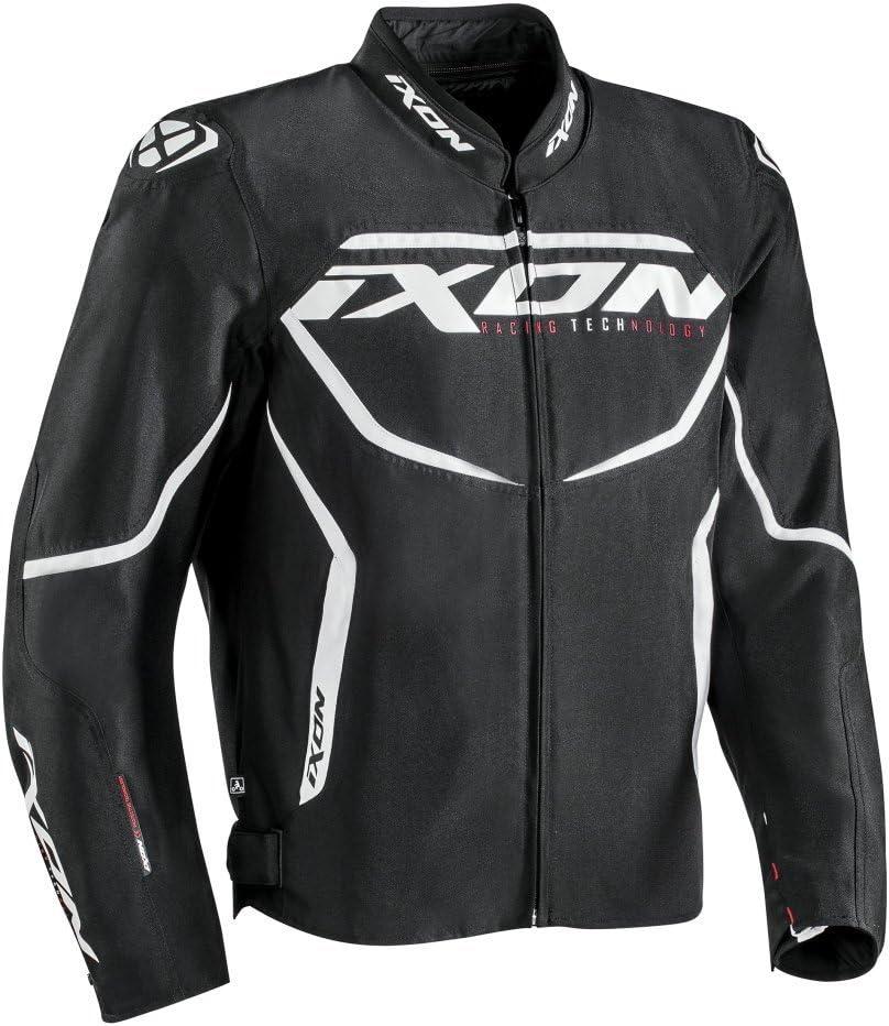 NC 1001010691072XS Ixon Chaqueta moto Sprinter Negro//Amarillo XS