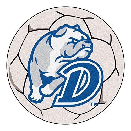 (NCAA Drake University Bulldogs Soccer Ball Mat Round Area)