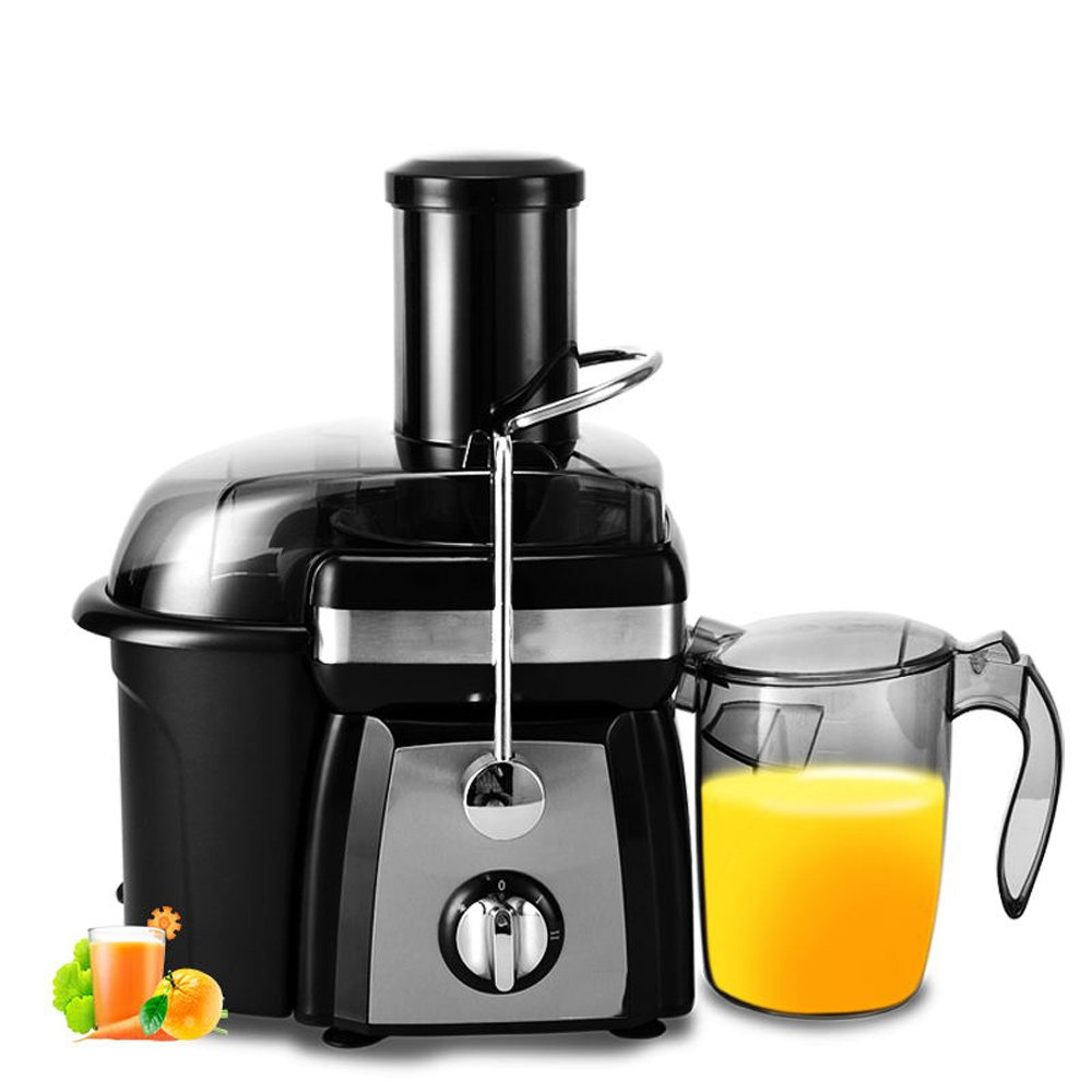 Juicer fully automatic large capacity fruit and vegetable multi-function juice stainless steel knife net separation, stainless steel blade 600W strong motor