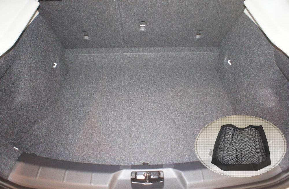Laderaumwanne, Kofferraummatte ZentimeX Z3327043 Geriffelte Kofferraumwanne fahrzeugspezifisch Klett-Organizer