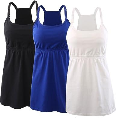 Koolee Women Maternity Sleeveless Floral Print Nursing Tank Tops for Breastfeeding