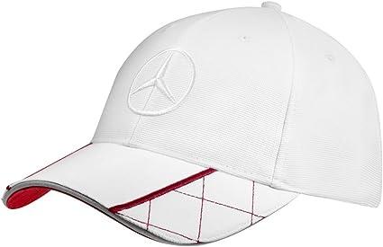 Gorra original de Mercedes Benz para hombre. En color blanco y ...
