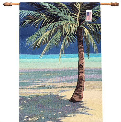Manual Tropical Bliss by Shari Erickson Tapestry Wallhanging HWEBL 26x36 by Manual Woodworkers