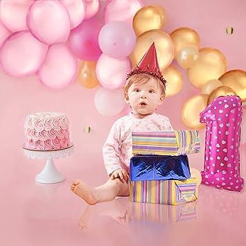 PushingBest 1st Birthday Decoration, decoración de Fiesta de ...