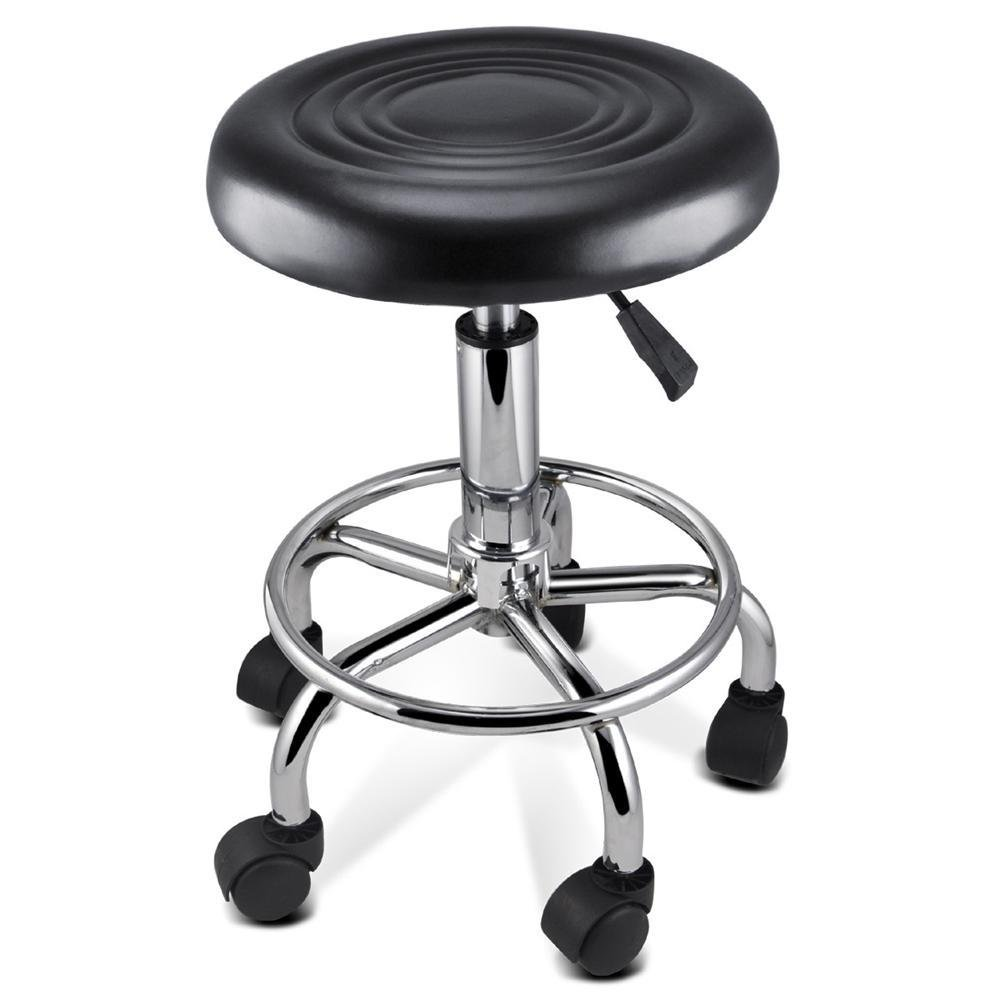 Popamazing Massage Tattoo Beauty Salon Swivel Gas Lift Stool Chair PP-Stool-OP156