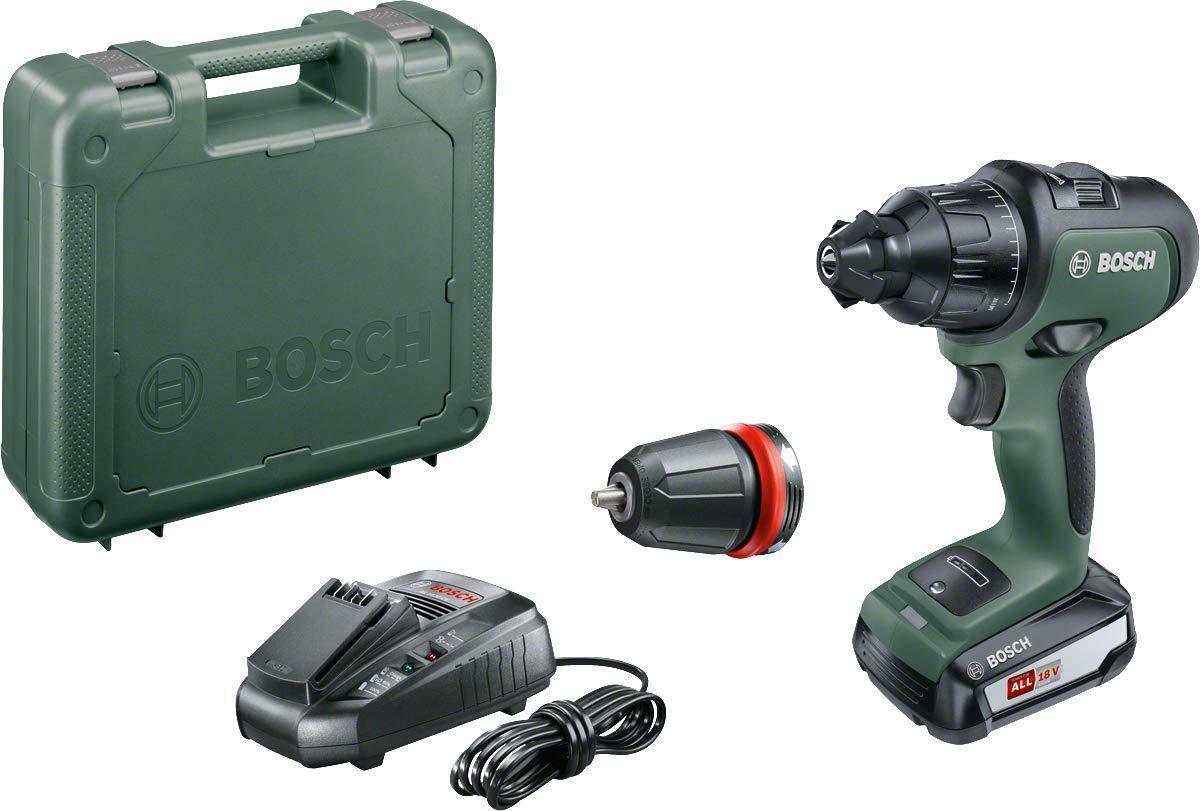 Bosch - Atornillador Combinado a Batería AdvancedImpact 18 (1 Batería, Sistema de 18 V