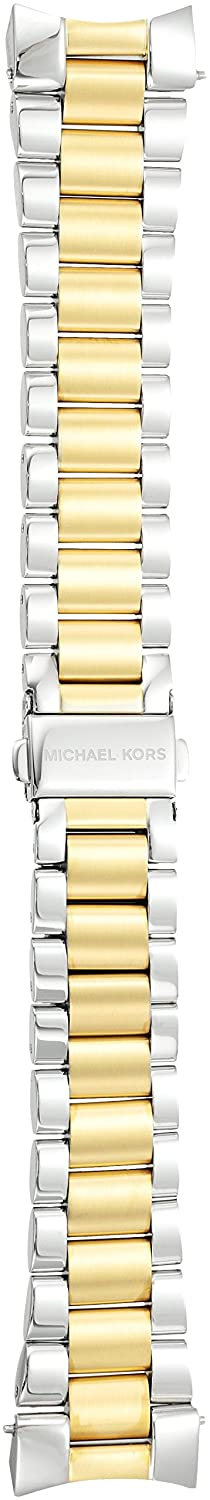 f924dbfa67fc Amazon.com  Michael Kors MKT9025 18mm Bradshaw Stainless Steel Watch  Bracelet  Watches