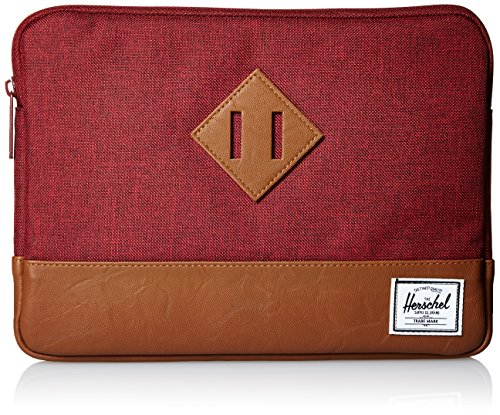 Tan Herschel Air Winetasting Sleeve Crosshatch Synthetic iPad Heritage for Leather CIwq7xr0I