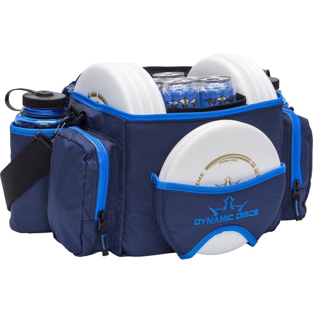 Dynamic Discs Soldier Disc Golf Bag - with Adjustable Shoulder Strap + Padding - Mesh Pocket - Internal U-Shaped Frame - 2 Dividers - Bora by D·D DYNAMIC DISCS