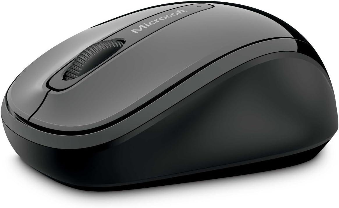 Microsoft Wireless Mobile Mouse 3500 - Ratón, USB, Wireless, BlueTrack, Windows® 7, Windows Vista®, Windows XP, Gris, AA