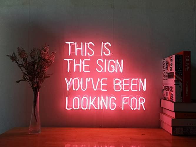 Man Cave Neon Signs For Sale : Amazon sexy back nude lady girl real glass neon sign for