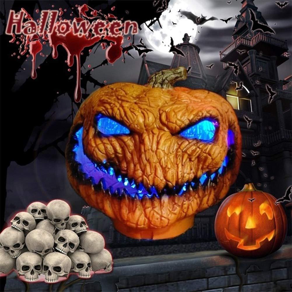 Studyset Scary Halloween Series Pumpkin Lamp Spirit Festival Party Decorative Prop