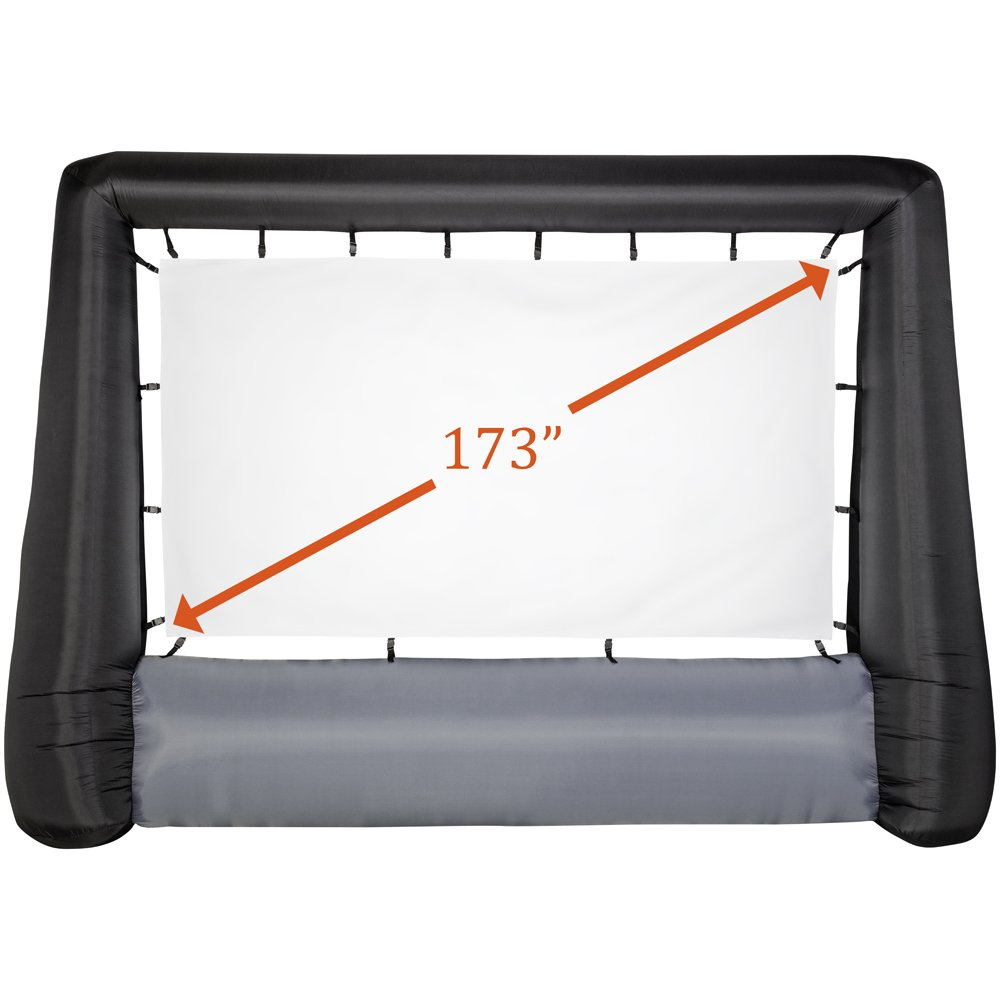 Gemmy 44416 Airblown Movie Screen Deluxe Inflatable, Giant 173''