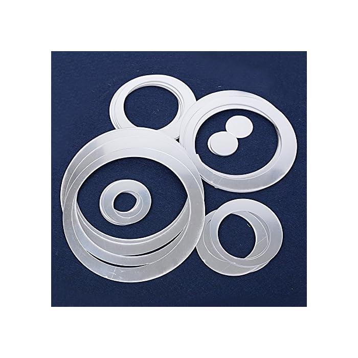 61rkR4QeZyL ❤ 24pcs Pegatinas Decorativas Pared Baño Espejos Adhesivos Calcomanías Material Acrílico Decoración Salón Hogar Oficina ❤ Dimensión: Diámetro desde 2,9cm hasta 14,4cm(6 tamaños). Cada tamaño contiene con 4 pcs pegatinas. 24pcs en total. Espesor: 0,9mm. ❤ Vinilos de pegatina con efecto espejo para decorar superficies lisas y limpias.