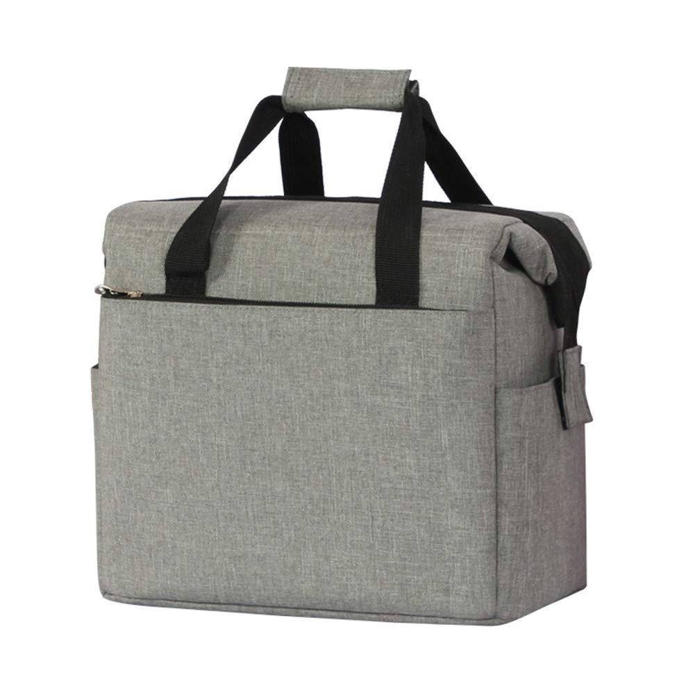 化粧品バッグ美容ケース化粧バッグ、美容バッグトラベルポーチバッグ、化粧品オーガナイザー化粧品バッグオーガナイザー財布ハンドバッグ付きハンドル防水  Gray B07QHJDV1P
