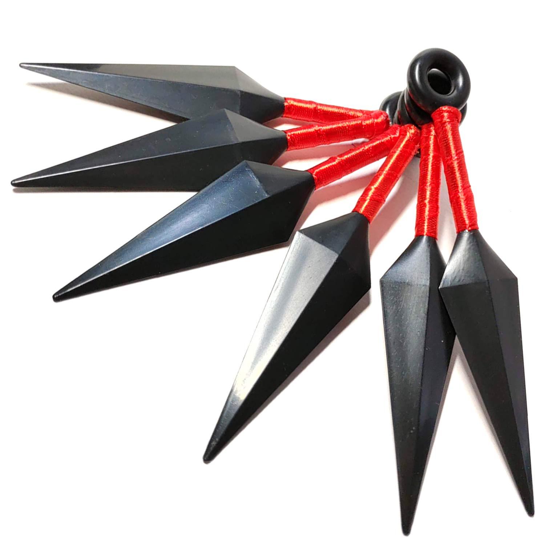 Amazon.com : Small Ninja Plastic Toy Throwing Knife Set for ...