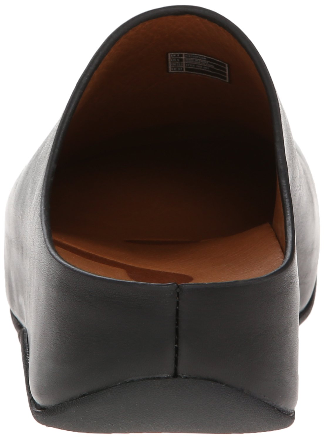 FitFlop Women's Shuv Leather Clog,Black,5 M US by FitFlop (Image #2)