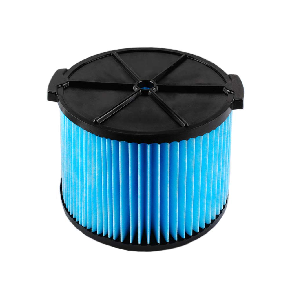 Poweka VF3500 Filter for Rigid Wet Dry Shop Vac 3-Layer Filters Fit WD4070 WD4522 Vacuum