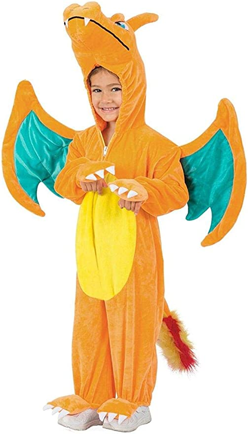 Princess Pokemon Charizard Jumpsuit Toddler Costume 18-24 Months ...