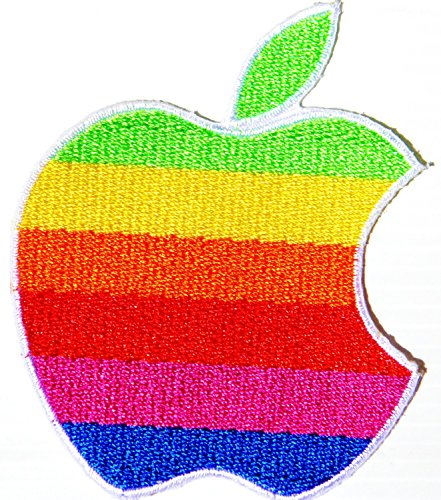 Apple Fruit iphone ipad Logo Jacket Patch Sew Iron on Embroidered Symbol Badge Cloth Sign Costume By PBEAR PATCH