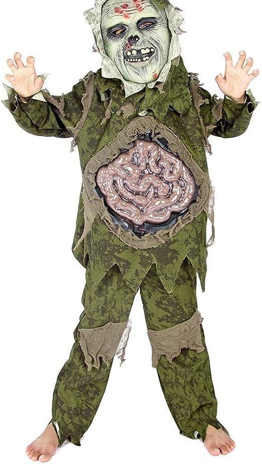 Arichtop - Disfraz de Chico Zombie Fantasma para Halloween ...