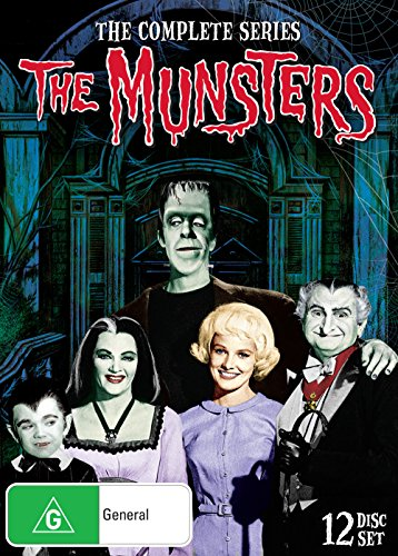 The Munsters Complete TV Series | 12 Discs | NON-USA Format | PAL | Region 4 Import - ()