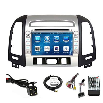 Car Stereo DVD Player for Hyundai Santa Fe 2007 2008 2009 2010 2011 2012 Double Din