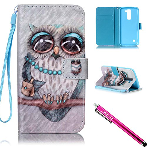 Firefish Kickstand Magnetic including Stylus Owl