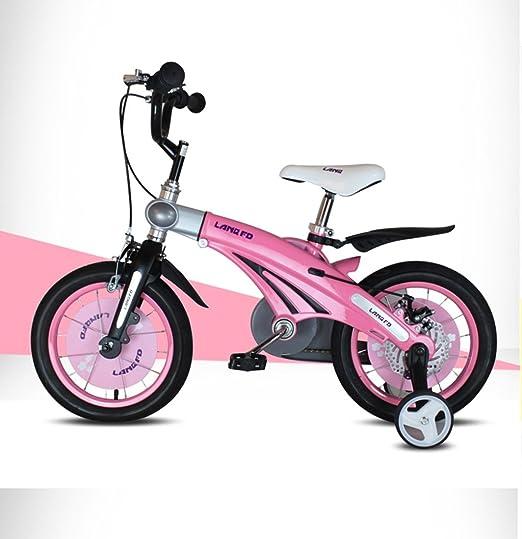 YJWOZ Bicicleta de niños, 12/14/16 Pulgadas niño bebé Bicicleta ...