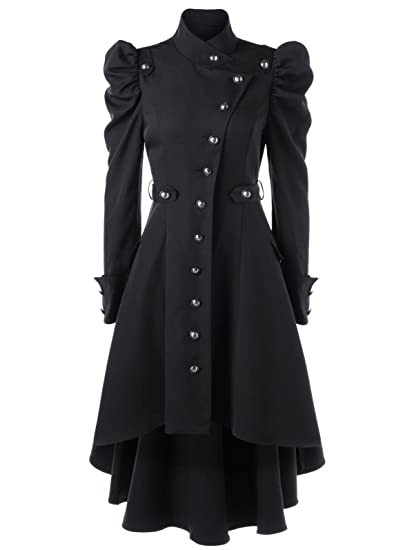 Steampunk Jacket | Steampunk Coat, Overcoat, Cape Beebeauty Gothic Vintage Womens Steampunk Victorian Swallow Tail Long Trench Coat Jacket $36.99 AT vintagedancer.com