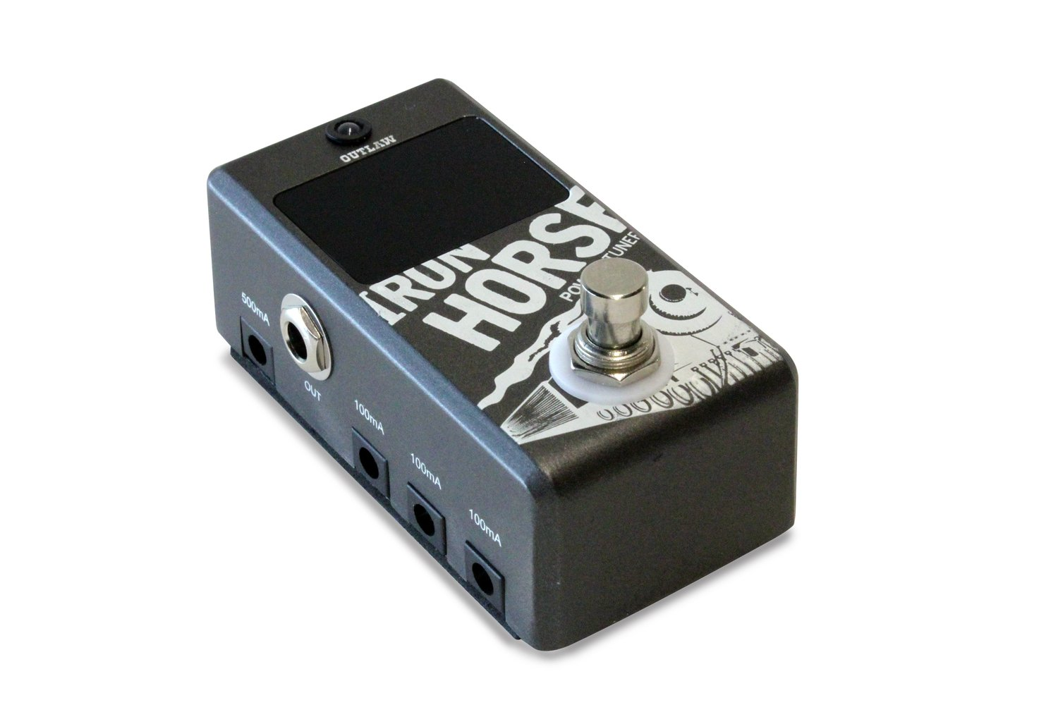 Outlaw Effects IRON-HORSE Tuner and Power Supply Pedal
