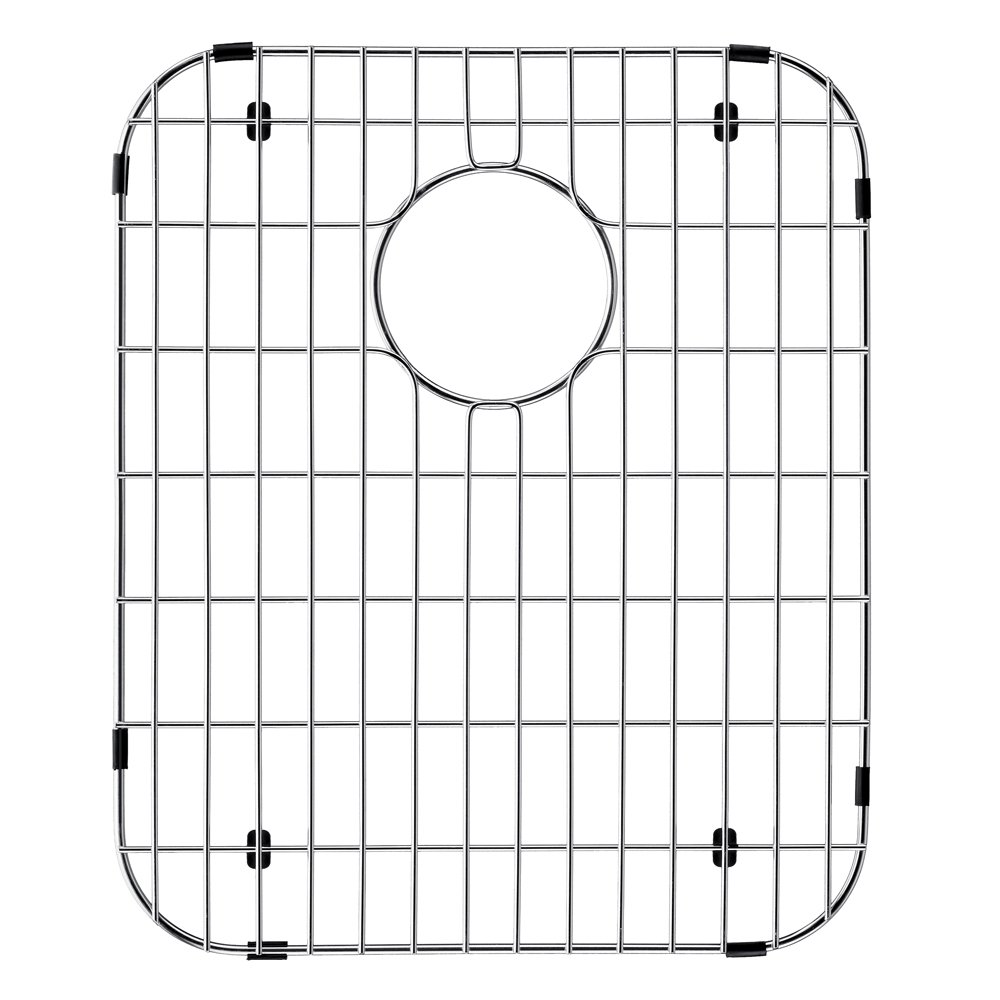 VIGO Stainless Steel Bottom Grid, 14-in. x 17.125-in. by VIGO