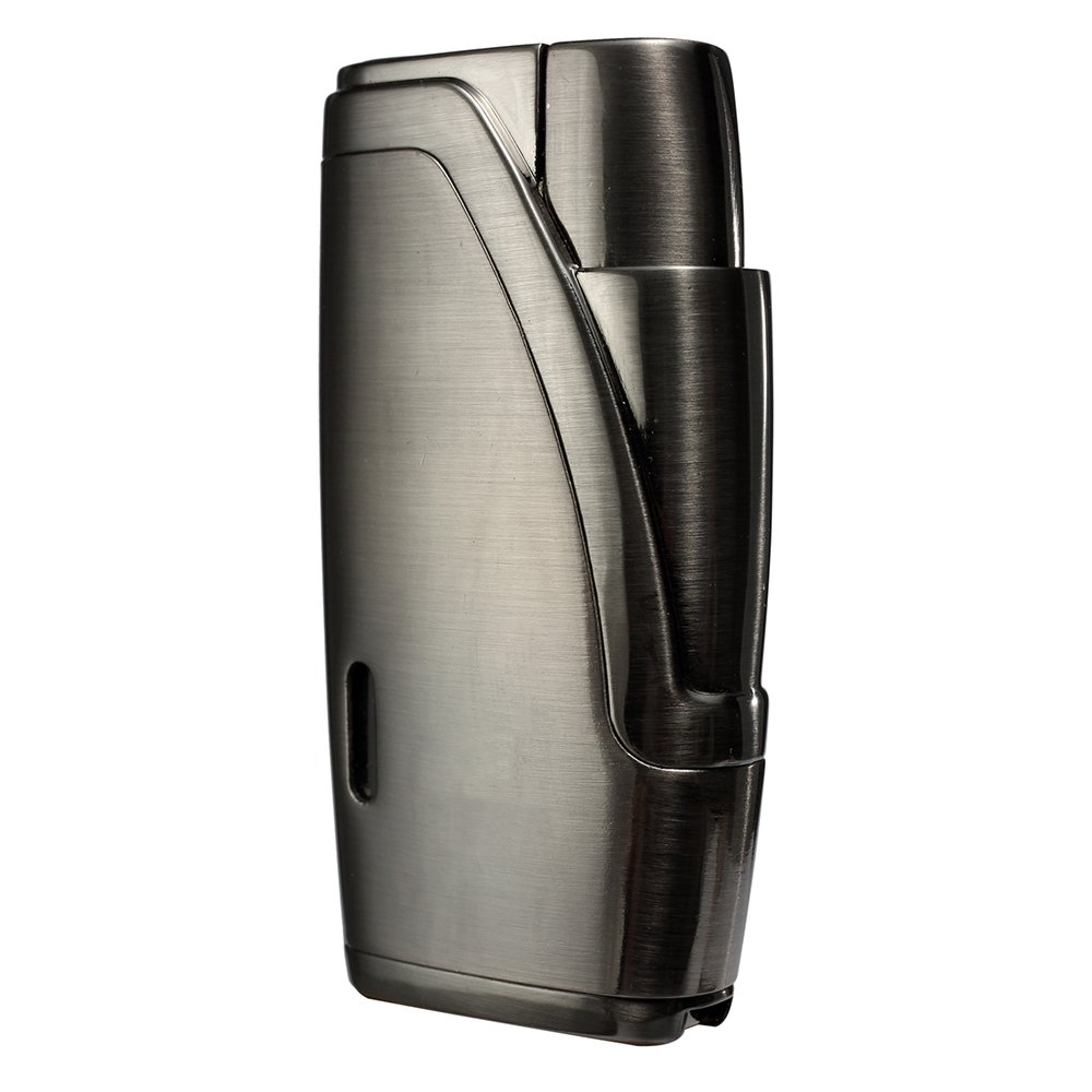 CiTree Cigar Lighter, 2 Jet Flame Butane Cigarette Torch Lighter with Cigar Punch
