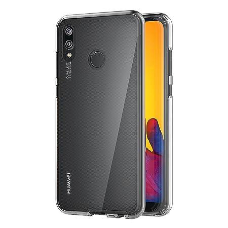 AICEK Funda Huawei P20 Lite, Transparente Silicona 360°Full Body Fundas para Huawei P20 Lite Carcasa Silicona Funda Case (5,84 Pulgadas): Amazon.es: ...
