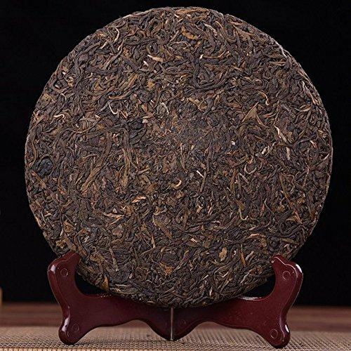 Dian Mai 05 years old mandarin tree Pu'er tea 357 g/cake 13 years Kunming dry barn cake 05年老曼峨古树普洱生茶357克/饼 13年昆明干仓单饼 by Dian Mai 滇迈 (Image #2)