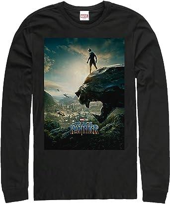 Black Panther 2018 Epic View Camiseta Negra de Manga Larga para Hombre XXL: Amazon.es: Ropa y accesorios