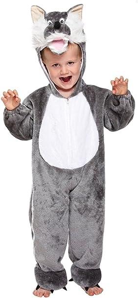 Suave Lobo Bebé Fancy Dress Disfraz Edad 3 Años: Amazon.es ...