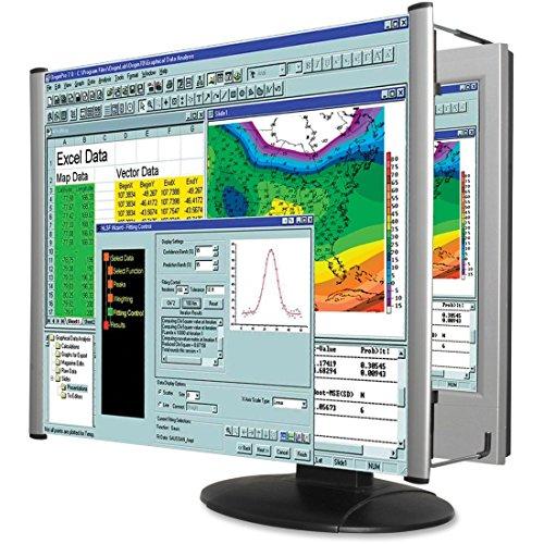 Kantek Adjustable Monitor - Kantek LCD Monitor Magnifier Filter, Fits 24