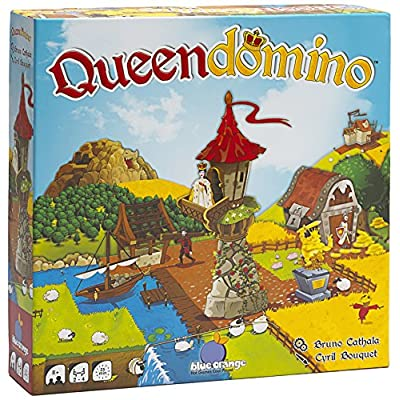 Blue Orange Games 03601 Queendomino Strategy Board Game: Toys & Games