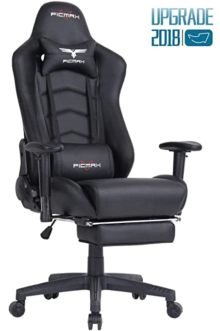 Merveilleux Ficmax Ergonomic Gaming Chair Racing Style Office Chair Recliner Computer  Chair PU Leather High Back